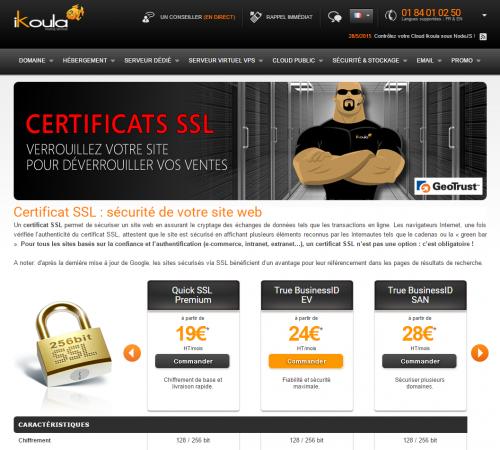 Wie Sie ein SSL-Zertifikat zu erneuern oder bestellen – De Ikoula wiki